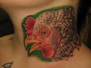 Chicken Tattoo Design Body