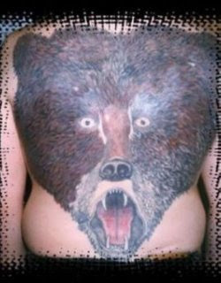 bear tattoo picture design