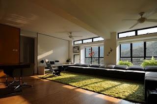 Matsuki Modern Apartment Interior livingroom