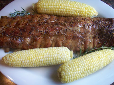 The cook has to sle the yummy ribs first