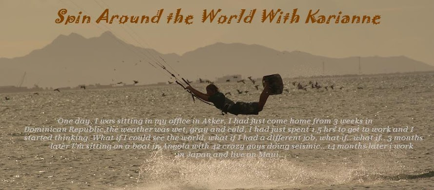 Spin Around The World With Karianne