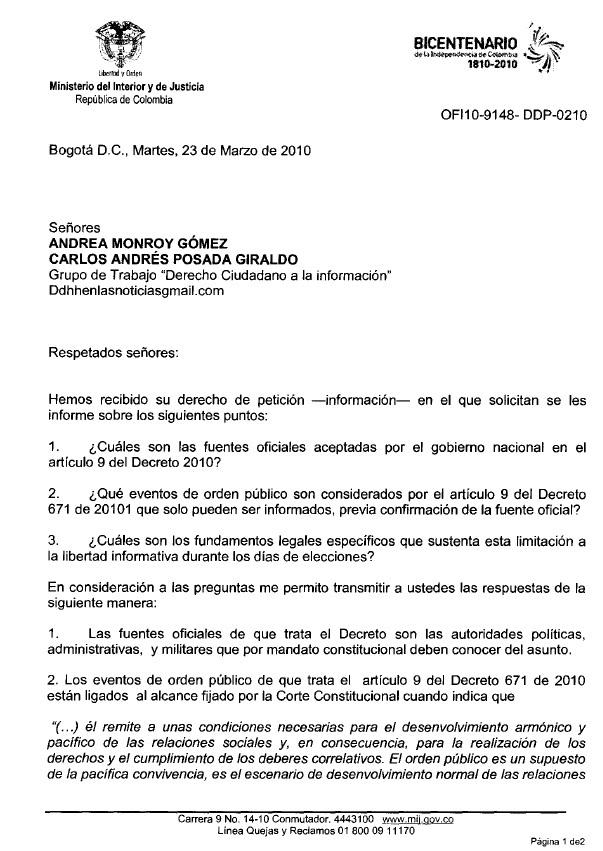 Derecho ciudadano a la informaci n ministerio del for Ministerio del interior telefono informacion
