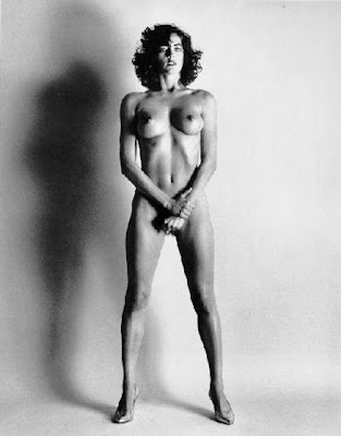 This photograph is from the Helmut Newton