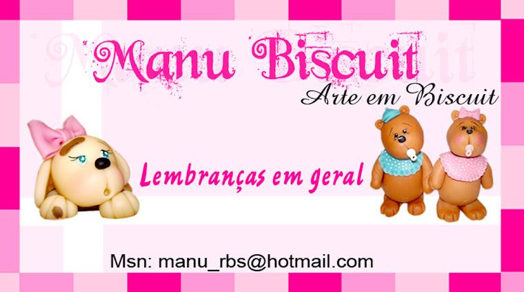 Manu Biscuit  *Arte em Biscuit*