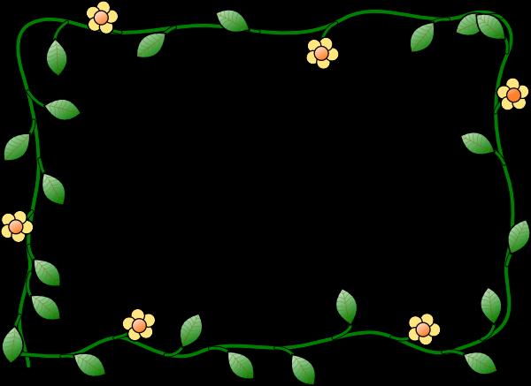 Flowers Clip Art Borders