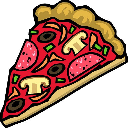 slice of pizza clipart. A