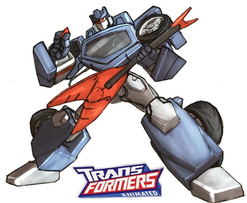 Cartoon Clipart: Transformers Clipart