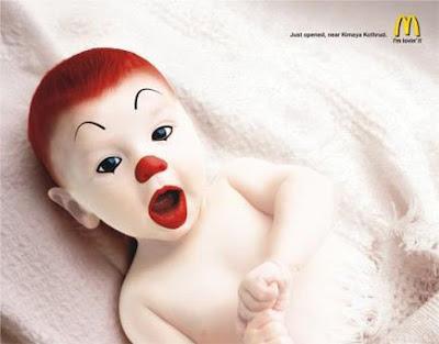 Biografia de Ronald McD. Baby-ronald