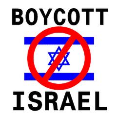 MESTI BOIKOT ISRAEL!