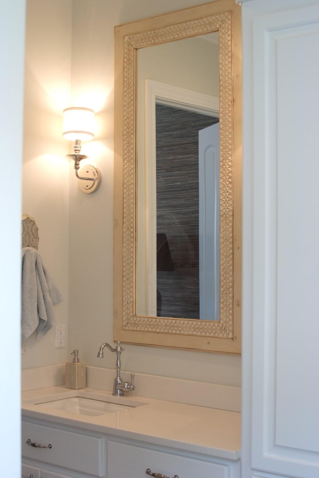 Kiwi wood werks designs custom mirror frames for Custom made bathroom mirrors