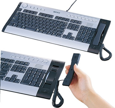 Flexible USB keyboard and Skype Handset