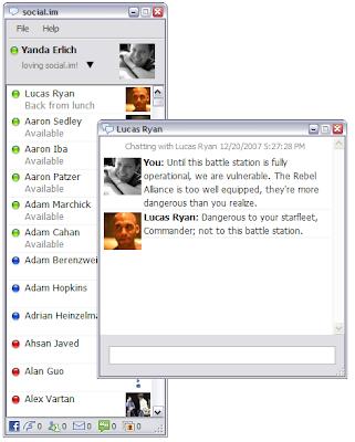 Social.im - Instant Messenger For Facebook