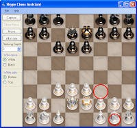 Chess Asssistant for Skype and Yahoo Messenger