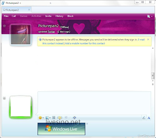 Windows Live Messenger Wave 4 Screenshot