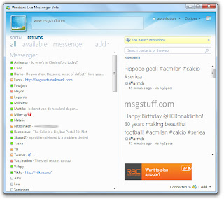 Windows Live Messenger 2010 (build 15.2.2583.119) Screenshot