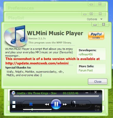 WLMini Music Player