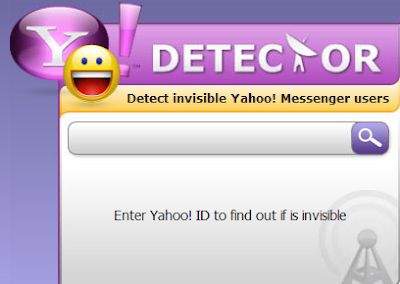 Y! Detector - Detect Invisible Users in Yahoo! Messenger