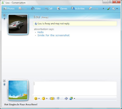 Leaked Screenshots of Windows Live Messenger 9 build 14.0.3921.0717