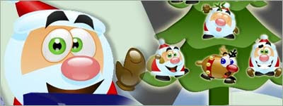 10 Christmas Emoticons for Windows Live Messenger from MSN Italy