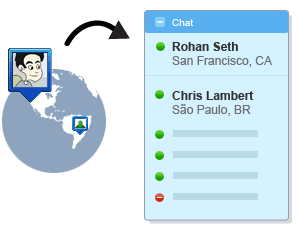 Show Your Location on Google Talk and Gmail Chat