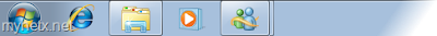 Windows 7: Messenger in taskbar