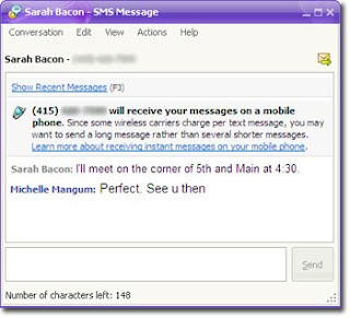 How  to Send Free SMS Text Messages in Yahoo! Messenger