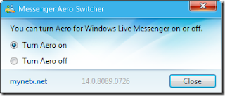 Messenger Aero Switcher Screenshot