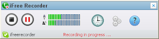 iFree Recorder Screenshot