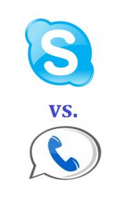 Skype vs. Google Voice