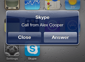 Skype for iPhone Now Supports Multitasking