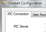 Cowbell IRC Bot Screenshot