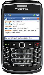 Download Meebo for BlackBerry