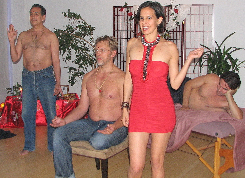 nude tantric goddess