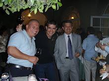 Con mi amigo Luis Jimenez