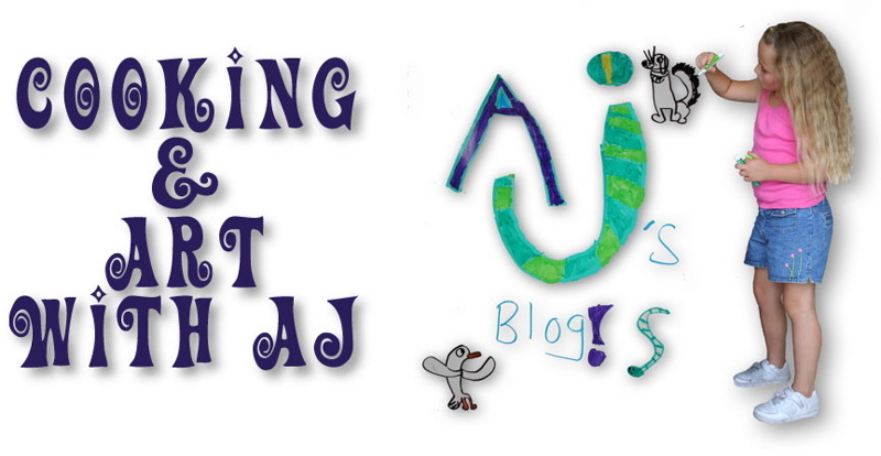 AJ's Art and Cooking Blog