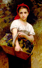 Grape Picker by Bouguereau