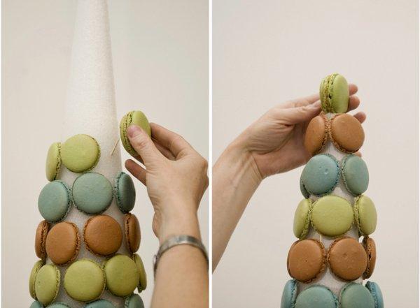 How to Make a Macaron Tower | Wedding DIY
