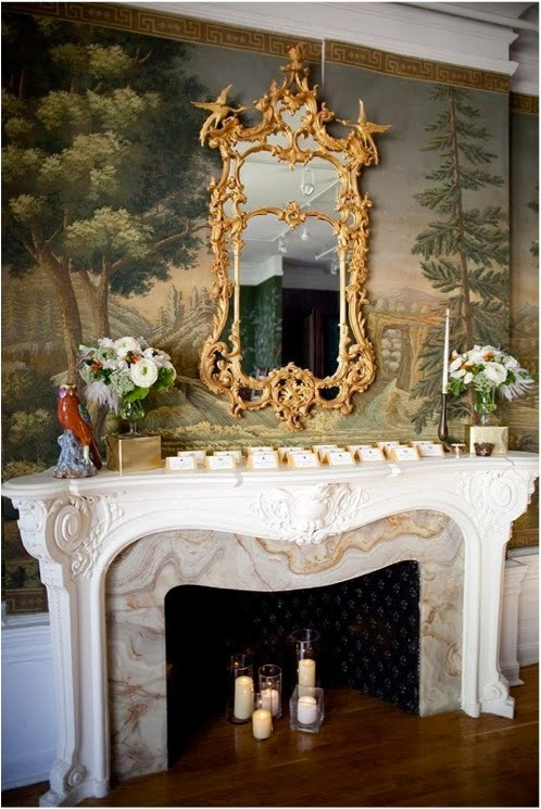 new-york-city-modern-classic-wedding-mantle