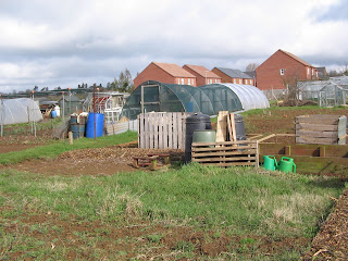 cold-frame, water butt, dalek