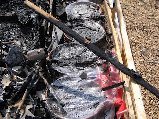 burnt colframe