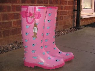 Weird Fish wellies