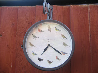 outdoor clock/barometer