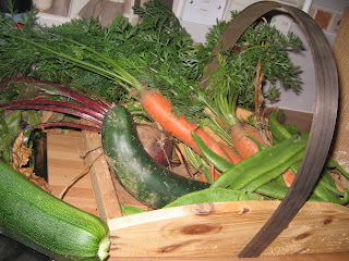 selection of veg and fruit