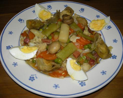 Cocinando que es gerundio menestra de verduras - Menestra de verduras en texturas ...