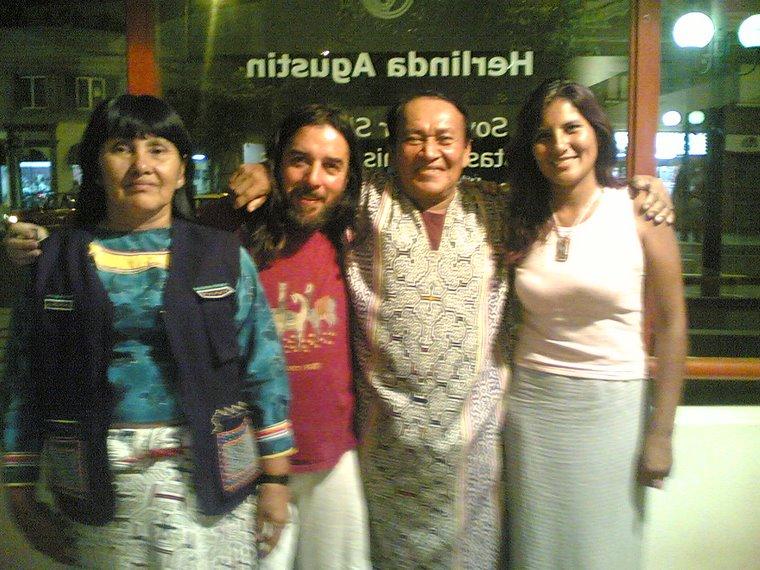 HERLINDA,ERNESTO, VERO Y YO