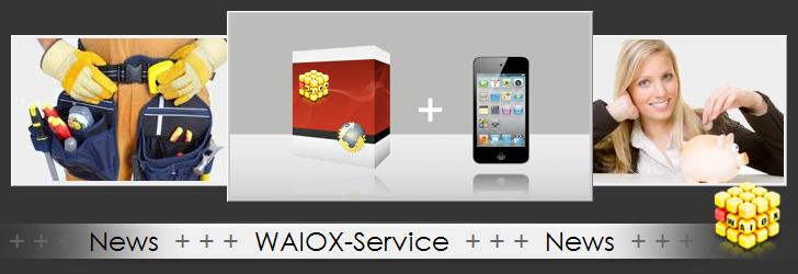 WAIOX-Service NEWS!