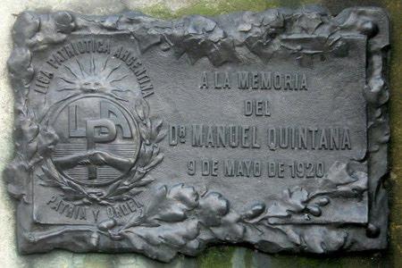 Placa Conmemorativa.