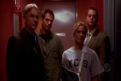 Special Agents (from left): Leroy Jethro Gibbs, Anthony DiNozzo, Paula