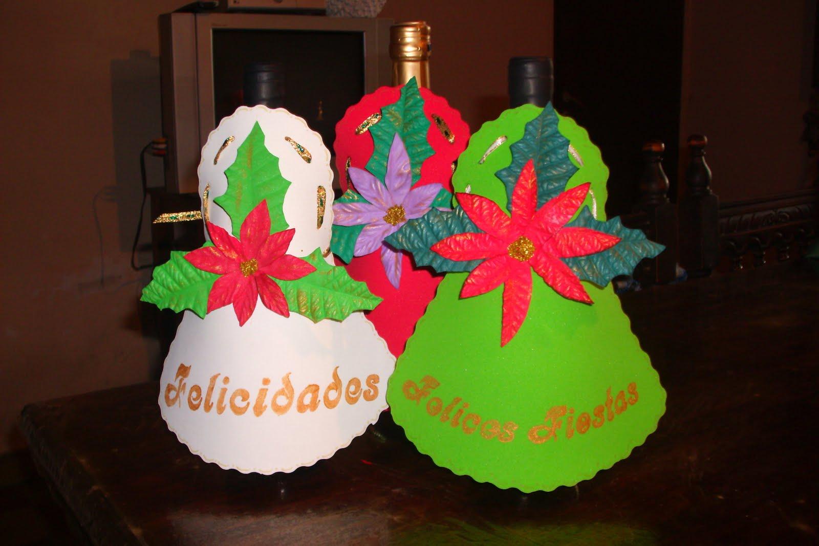Navidad en goma eva imagui - Decoracion navidad goma eva ...