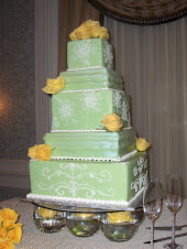 Big green cake!